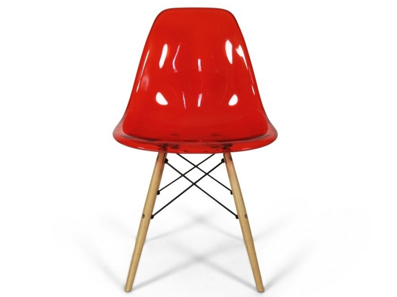 dsw stuhl durchsichtig rot. Black Bedroom Furniture Sets. Home Design Ideas