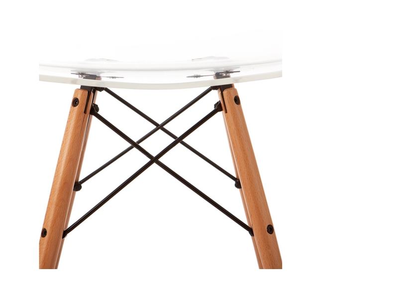 Bild von Stuhl-Design DSW Eames Stuhl - Durchsichtig