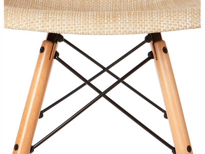 Bild von Stuhl-Design DSW Eames Stuhl Textur - Beige