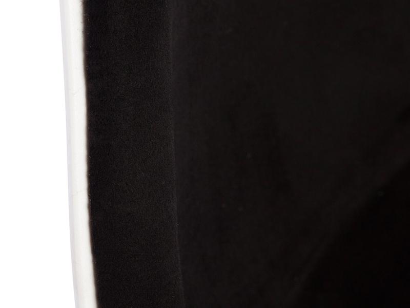 Bild von Stuhl-Design DSW Stuhl Wollpolsterung - Schwarz