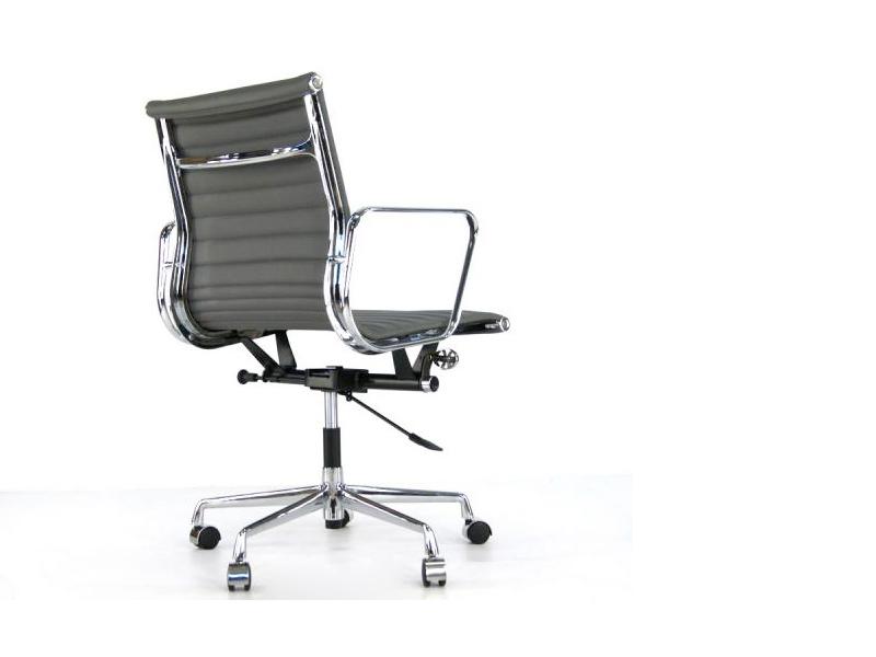 Bild von Stuhl-Design Eames Alu EA117 - Grau