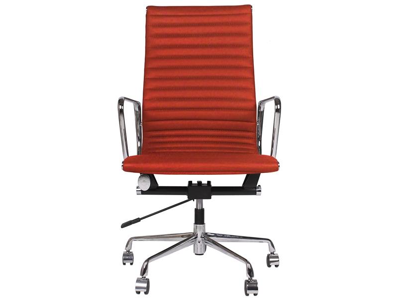 Bild von Stuhl-Design Eames Alu EA119 - Rot