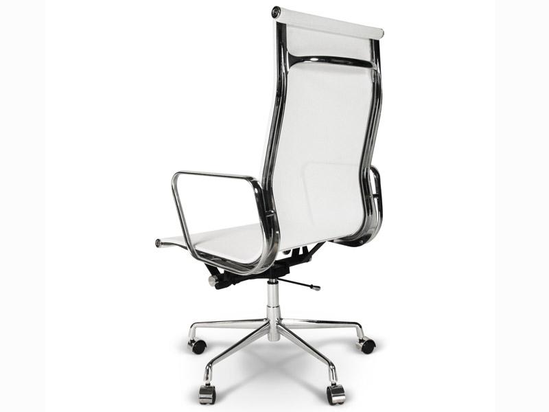Bild von Stuhl-Design Eames Alu EA119 - Weiß