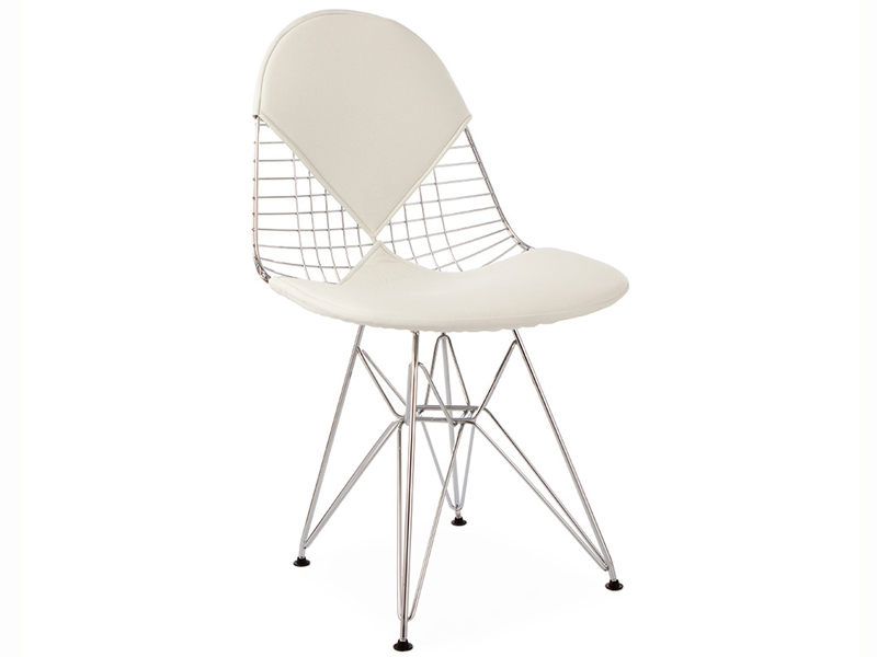 Eames bikini stuhl wei for Eames design stuhl