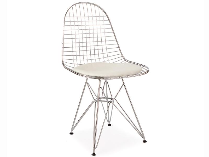 Bild von Stuhl-Design Eames DKR Stuhl - Weiß