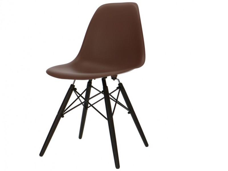 Bild von Stuhl-Design Eames DSW Eames Stuhl - Braun