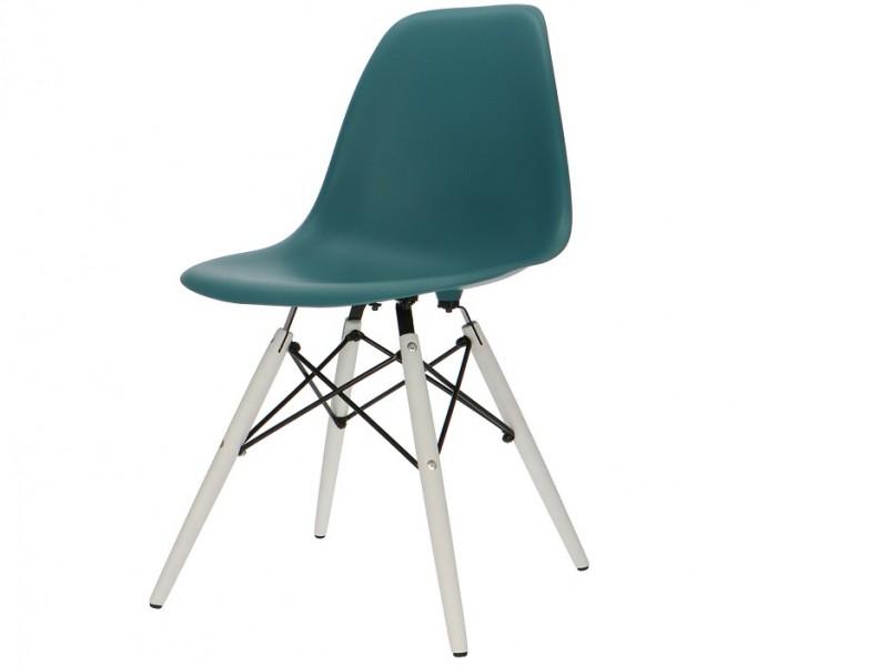 Bild von Stuhl-Design Eames DSW Stuhl - Blau Grün