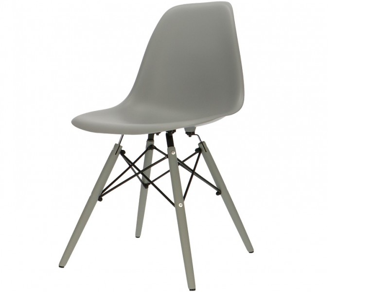 Bild von Stuhl-Design Eames DSW Stuhl - Grau