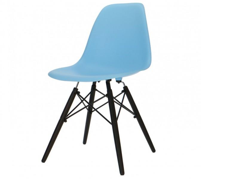 Bild von Stuhl-Design Eames DSW Stuhl - Hellblau