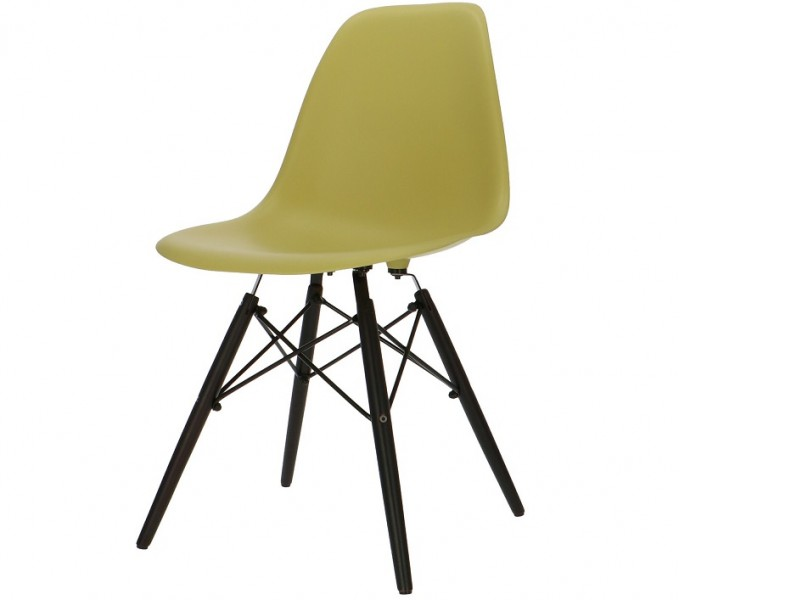 Bild von Stuhl-Design Eames DSW Stuhl - Olivgrün