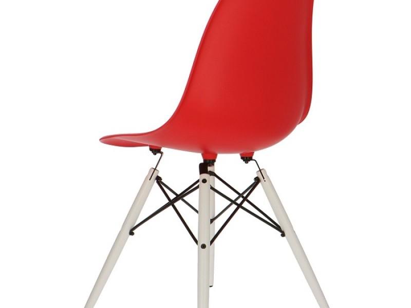 Bild von Stuhl-Design Eames DSW Stuhl - Rot