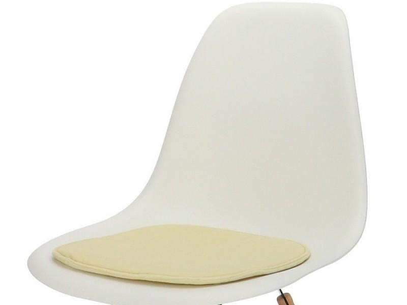 Bild von Stuhl-Design Eames Kissen - Creme