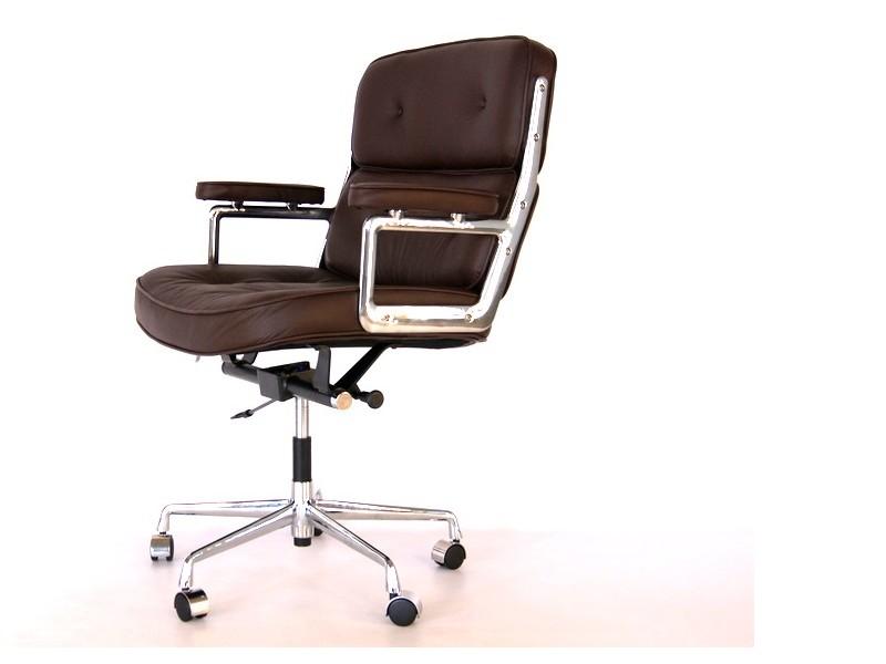 Bild von Stuhl-Design Eames Lobby ES104 - Dunkelbraun