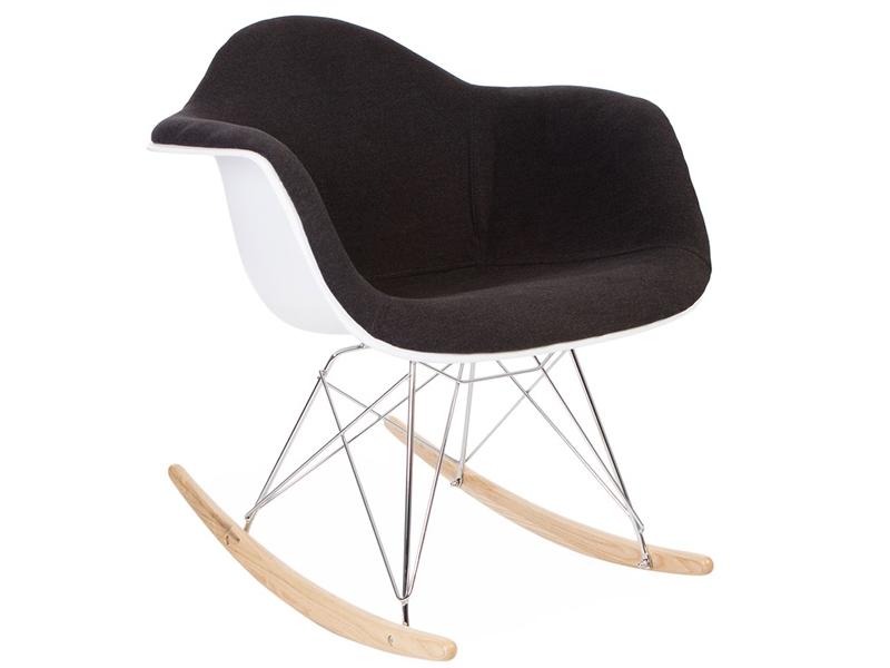 eames rar wollpolsterung grau. Black Bedroom Furniture Sets. Home Design Ideas