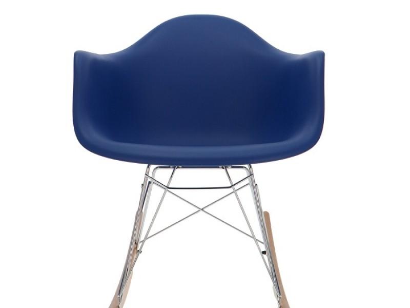 Bild von Stuhl-Design Eames Rocking Chair RAR - Dunkelblau