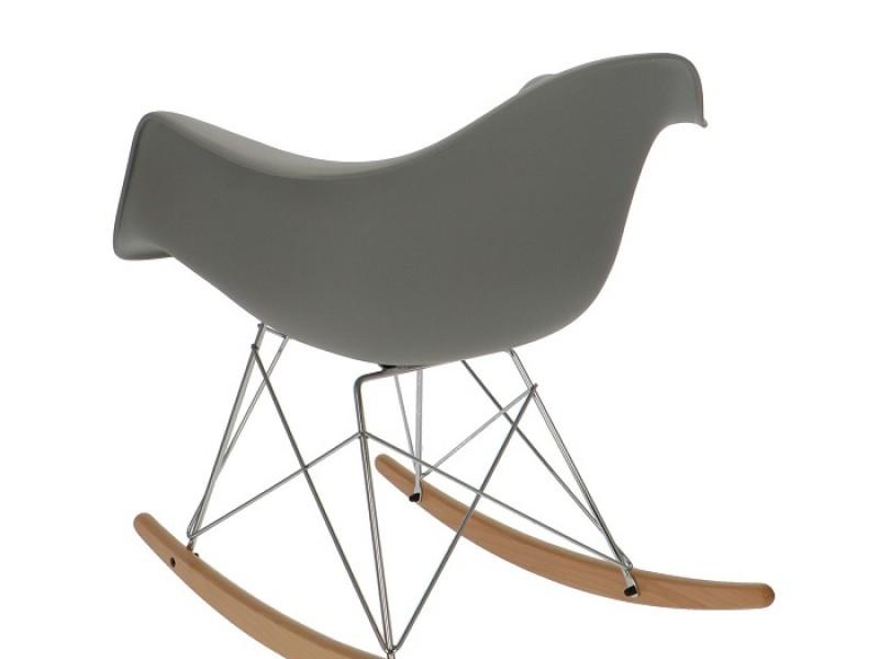 Bild von Stuhl-Design Eames Rocking Chair RAR - Grau
