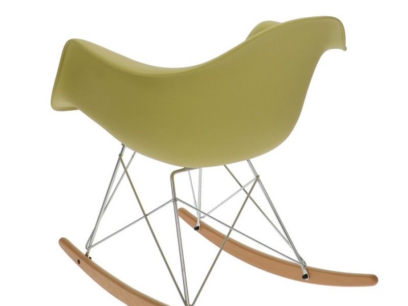 Bild von Stuhl-Design Eames Rocking Chair RAR - Olivgrün