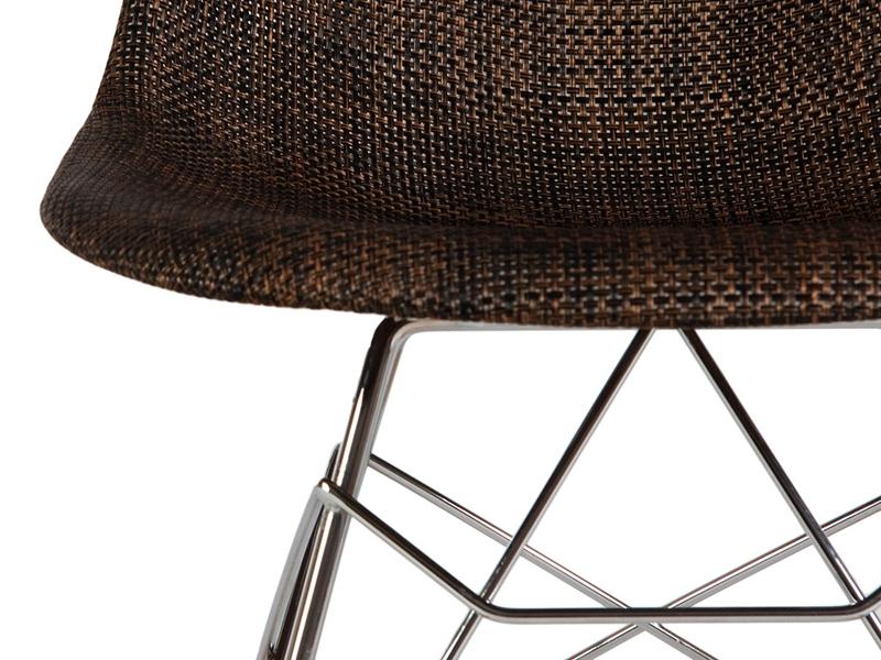 Bild von Stuhl-Design Eames RSR Textur - Kakao
