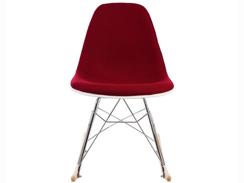 Bild von Stuhl-Design Eames RSR Wollpolsterung - Rot