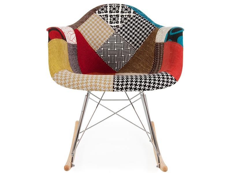 eames schaukelstuhl rar patchwork. Black Bedroom Furniture Sets. Home Design Ideas