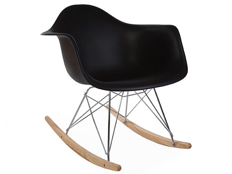eames schaukelstuhl rar schwarz. Black Bedroom Furniture Sets. Home Design Ideas