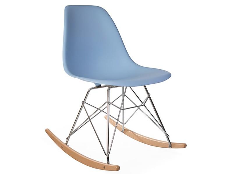 Bild von Stuhl-Design Eames Schaukelstuhl RSR - Hellblau