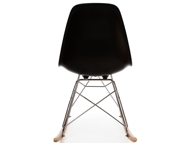 Bild von Stuhl-Design Eames Schaukelstuhl RSR - Shwarz