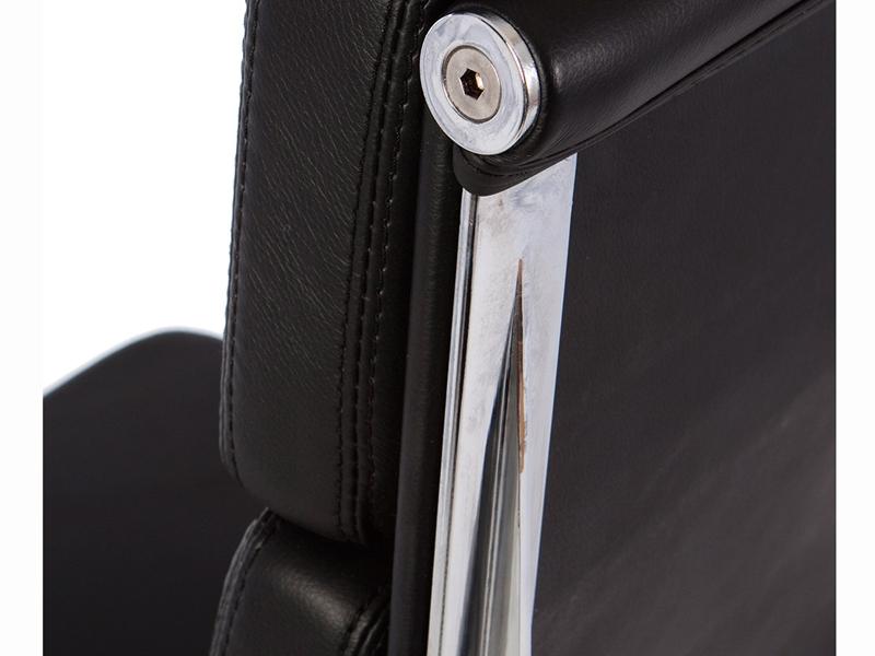 Bild von Stuhl-Design Eames Soft Pad EA219 - Schwarz