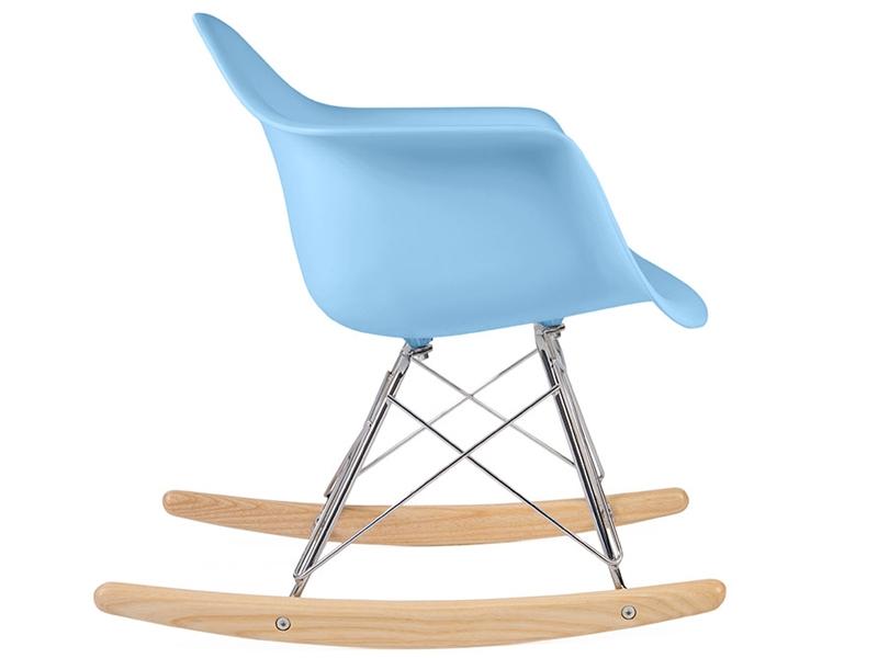 kinder eames schaukelstuhl rar blau. Black Bedroom Furniture Sets. Home Design Ideas