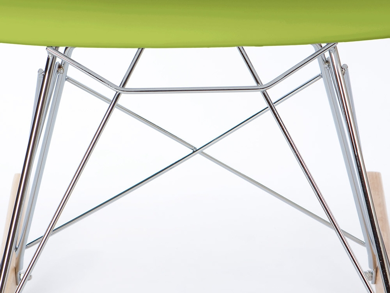 Bild von Stuhl-Design Kinder Eames Schaukelstuhl RAR - Grün