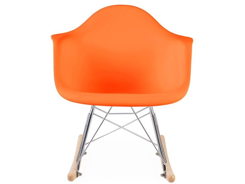 Kinder eames schaukelstuhl rar orange for Schaukelstuhl kinder