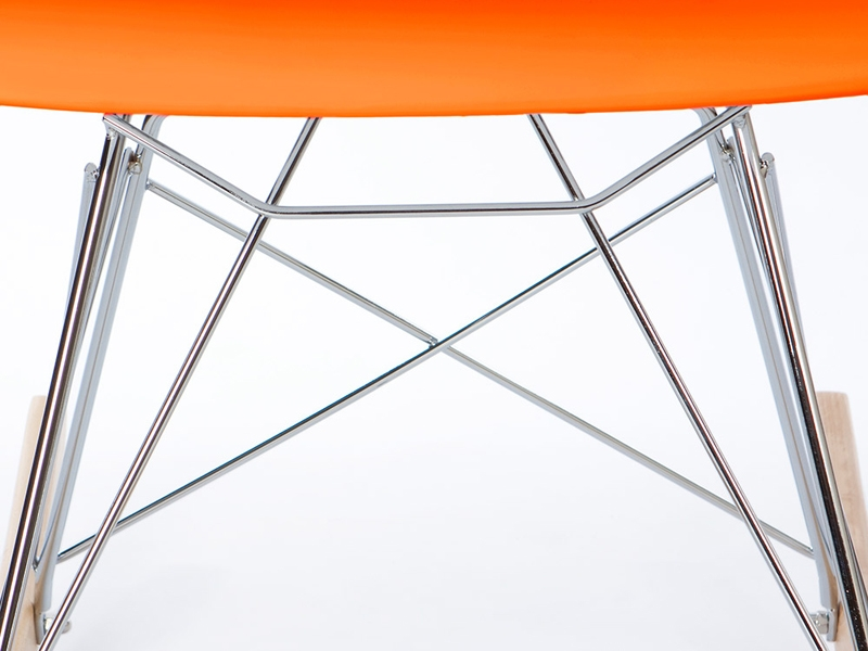Bild von Stuhl-Design Kinder Eames Schaukelstuhl RAR - Orange
