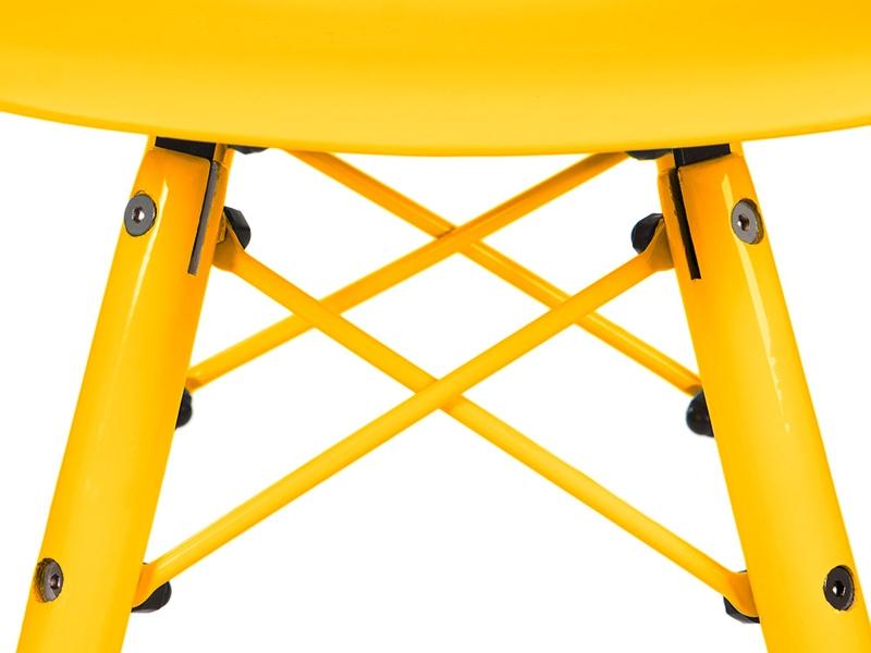 Bild von Stuhl-Design Kinder Stuhl DSW Color - Gelb