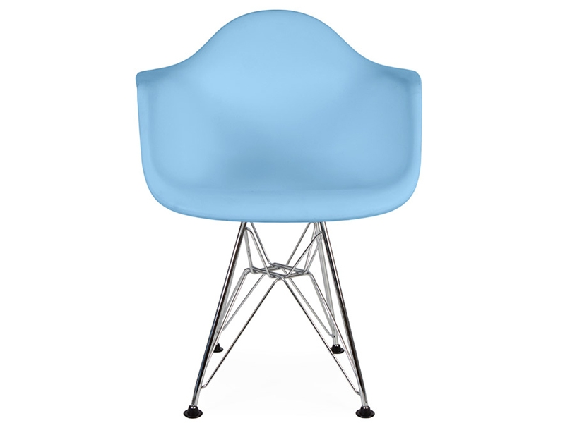 kinder stuhl eames dar blau. Black Bedroom Furniture Sets. Home Design Ideas