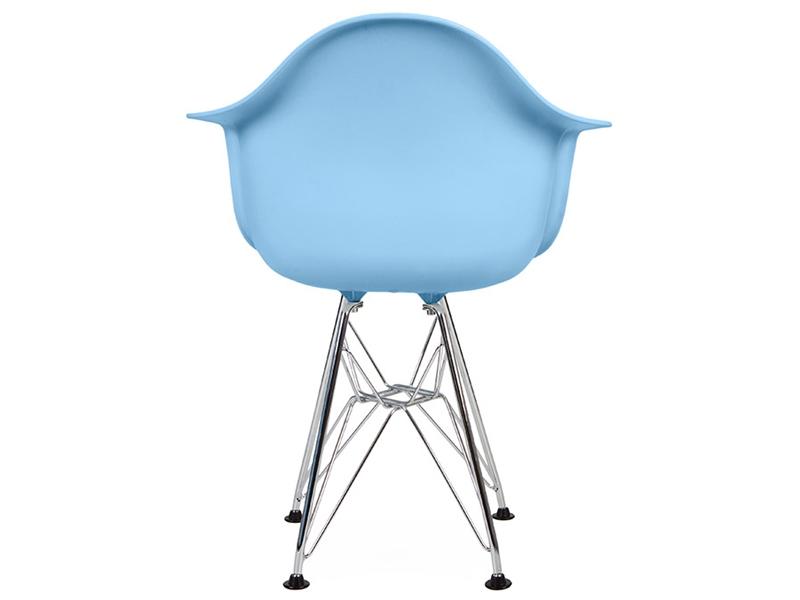 kinder stuhl eames dar blau. Black Bedroom Furniture Sets. Home Design Ideas