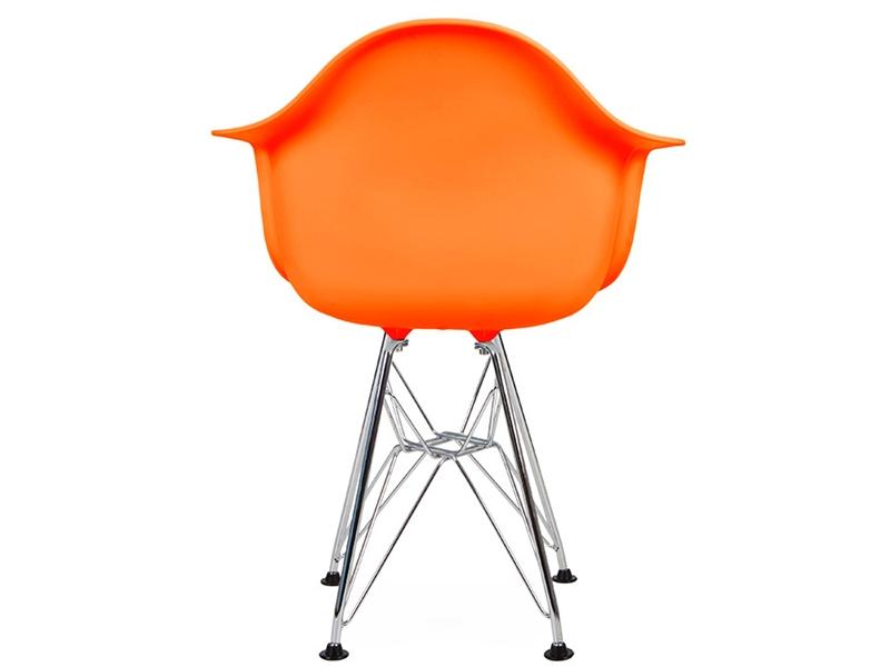 kinder stuhl eames dar orange. Black Bedroom Furniture Sets. Home Design Ideas
