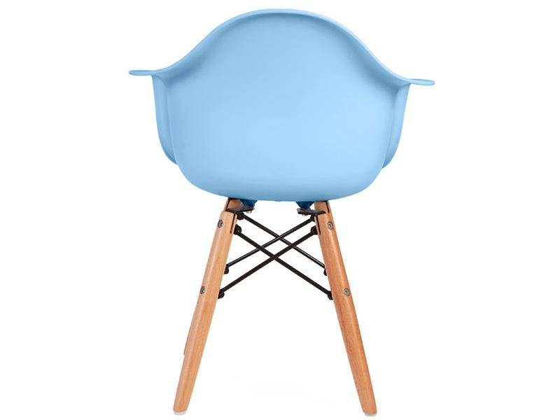 kinder stuhl eames daw blau. Black Bedroom Furniture Sets. Home Design Ideas