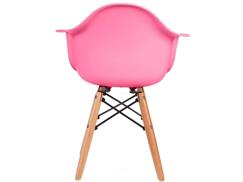 kinder stuhl eames daw rosa. Black Bedroom Furniture Sets. Home Design Ideas