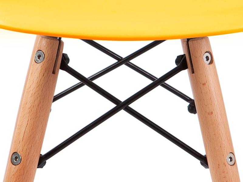 kinder stuhl eames dsw gelb. Black Bedroom Furniture Sets. Home Design Ideas