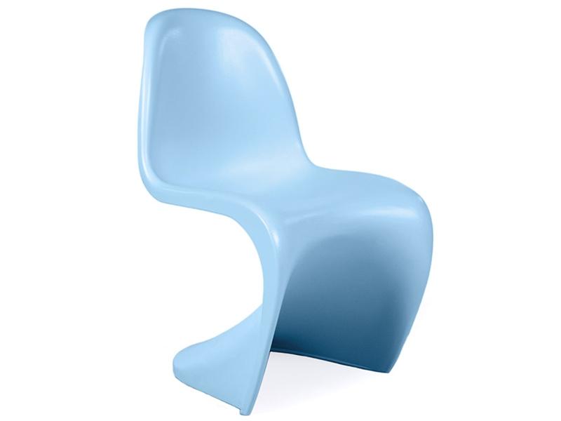 Kinder stuhl panton blau for Design stuhl panton