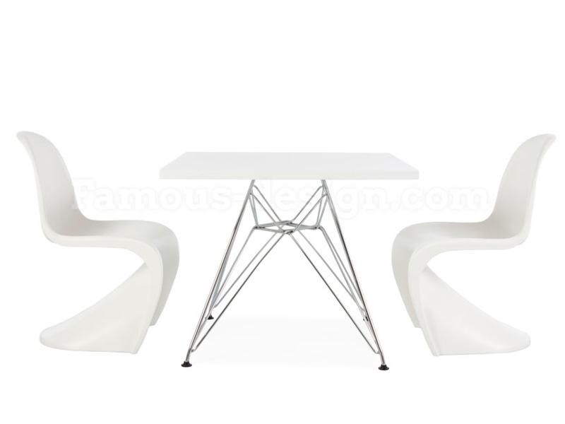 kinder tisch eames eiffel wei. Black Bedroom Furniture Sets. Home Design Ideas