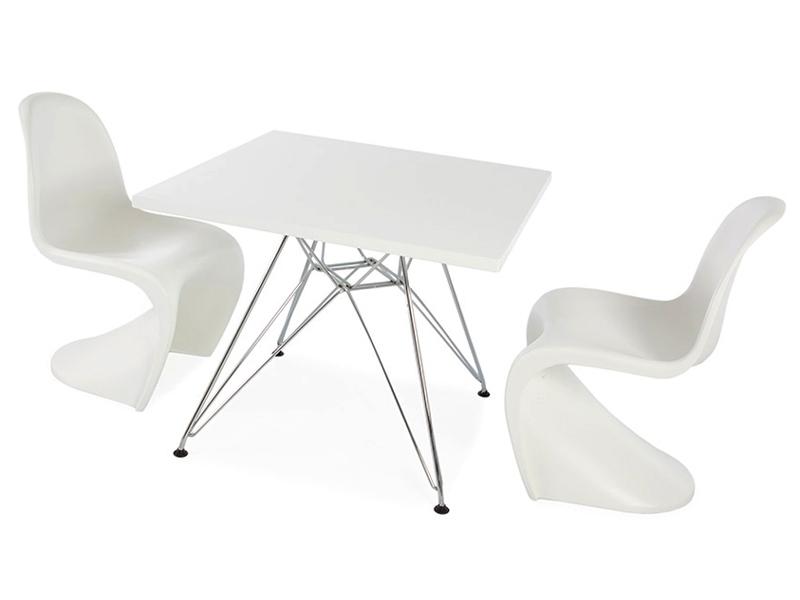 kinder tisch eiffel 2 st hle panton. Black Bedroom Furniture Sets. Home Design Ideas