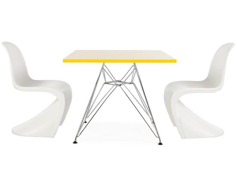 Bild von Stuhl-Design Kinder Tisch Eiffel - 2 Stühle Panton