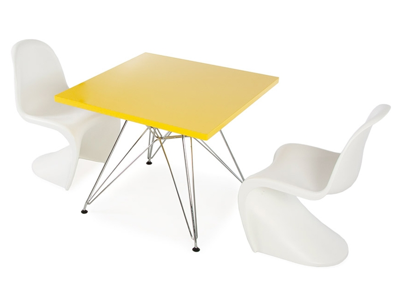 Kinder tisch eiffel 2 st hle panton for Design stuhl eiffel
