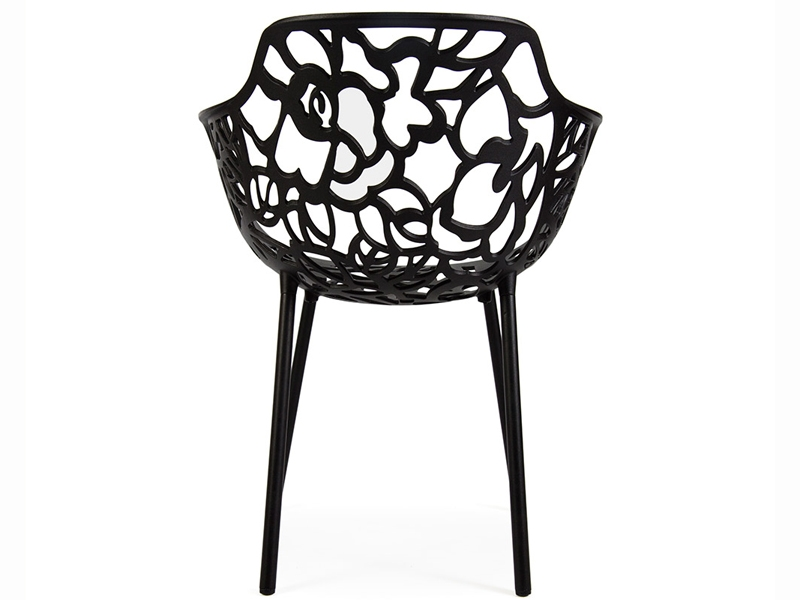 Lilly stuhl schwarz for Design stuhl schwarz