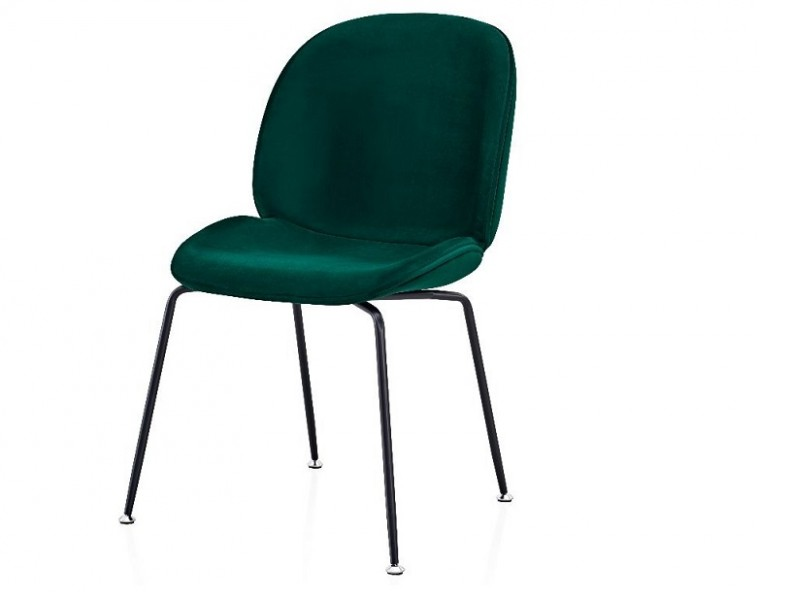 Bild von Stuhl-Design Orville Mr. B  Chair - Grünes Samtstoff