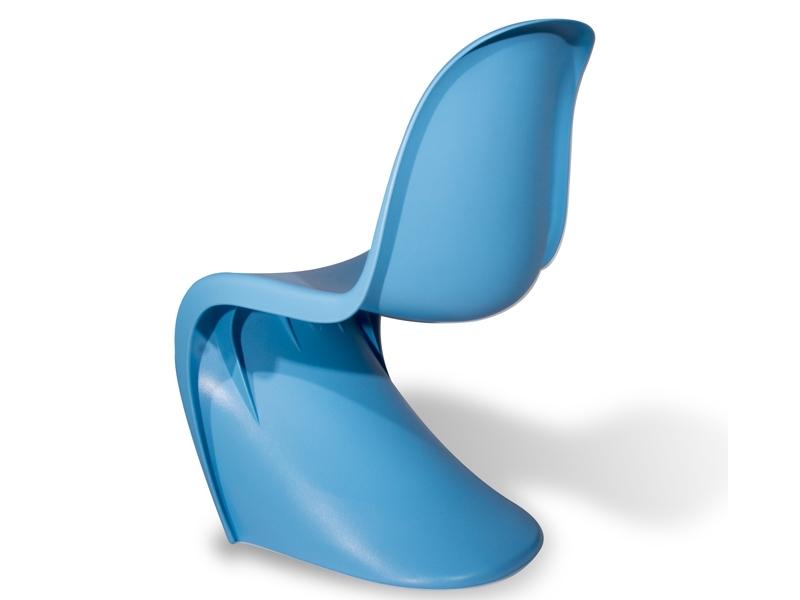 Panton stuhl blau for Panton stuhl replik