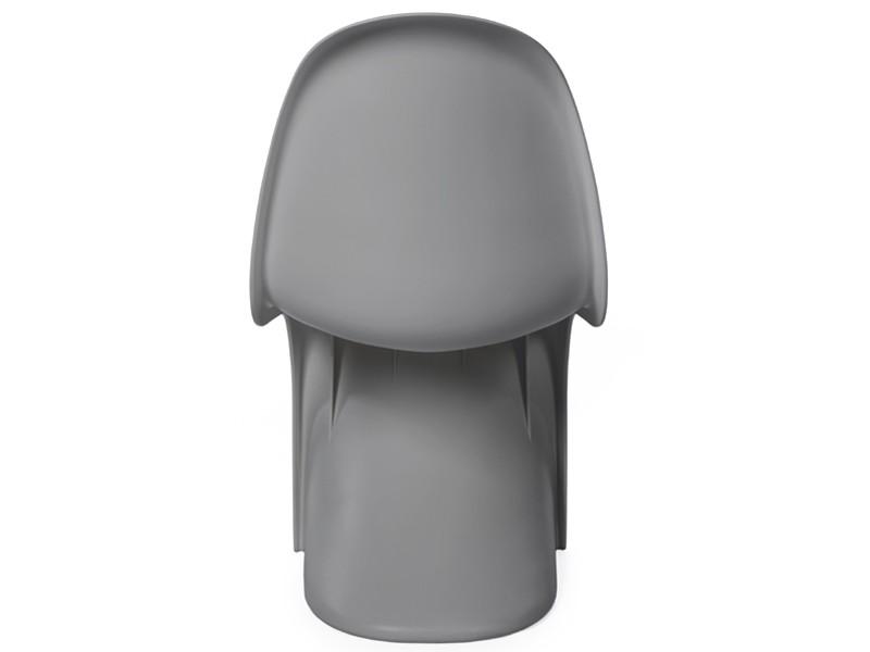 Bild von Stuhl-Design Panton Stuhl - Grau