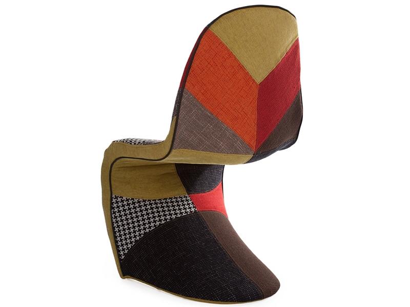 panton stuhl patchwork. Black Bedroom Furniture Sets. Home Design Ideas