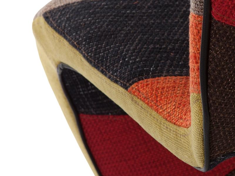 Bild von Stuhl-Design Panton Stuhl - Patchwork